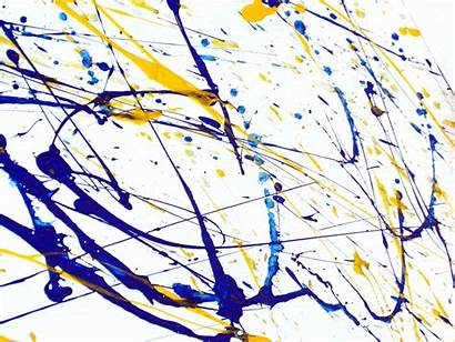 Splatter Paint Background Abstract Splash Drip Random