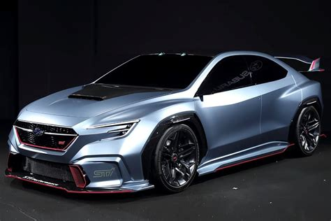 Subaru's Latest Sports Car Concept Previews The New Wrx