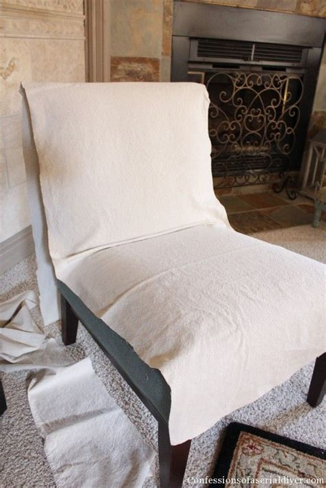 Slipper Chair Slipcover by Slipcovering An Armless Accent Chair Sewing Slipcovers