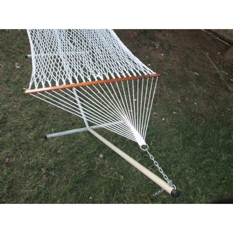 Cotton Rope Hammock With Stand by Cotton Rope Hammock With Hammock Stand
