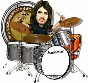 John Bonham caricature  Led Zeppelin   MUSICIAN IN ART ...