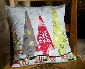 diy holiday trees pillow cover weallsew With christmas pillows to make