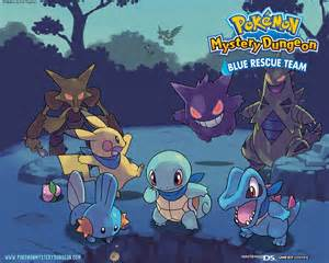 pokemon mystery dungeon blue rescue team wallpaper
