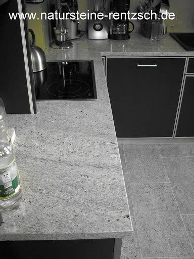 Granitplatte Küche Preis by K 252 Che Arbeitsplatte Granit Kashmir White Granitplatte Ebay