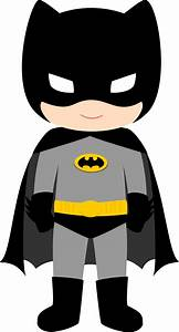 Characters of Batman Kids Version Clip Art. - Oh My Fiesta ...