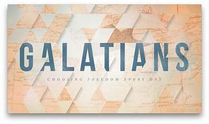 Galatians Bible Study Hebrews Series Chapters Freedom