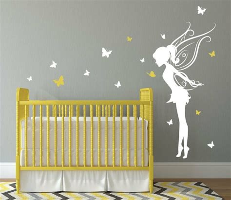 stickers chambre bebe fille fee stickers chambre b 233 b 233 fille pour une d 233 co murale originale