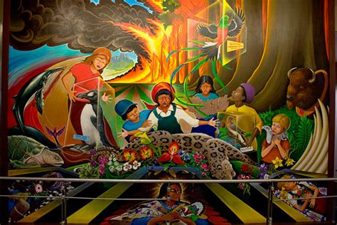 Denver International Airport Murals by The Daily Dan What The Hell Is Going On At The Denver