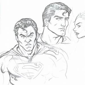 Superman sketches by Redmasker on DeviantArt