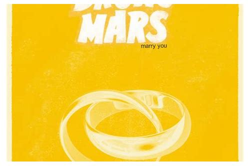 marry you bruno mars mp3 download