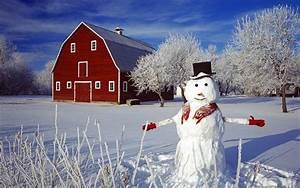 aesthetic snowman hd computer wallpaper 23