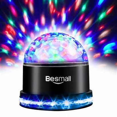 Lights Led Christmas Stage Rotating Crystal Magic