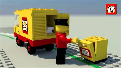 Lego Mail Truck 6651 Youtube