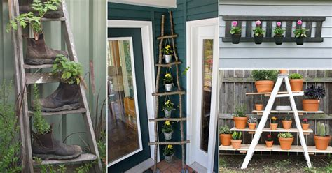 Window Spice Garden by 17 Ingenious Diy Vertical Ladder Planter Ideas For
