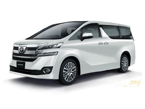 Toyota Malaysia 2020 by Toyota Vellfire 2017 2 5 In Selangor Automatic Mpv White