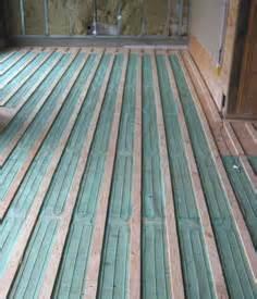 tempzone floor heating under hardwood floors