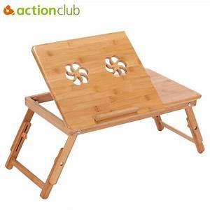 Laptop Tisch Sofa : actionclub tragbare falten bambus laptop tisch sofa bett b ro laptop stand schreibtisch mit fan ~ Orissabook.com Haus und Dekorationen