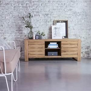 vente meuble pour tele en teck meubles tv minimalys chez With meuble t