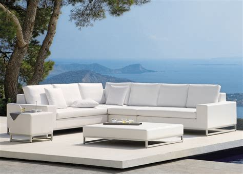 Landscape Big Sofa by Manutti Zendo Plus Garden Corner Sofa Manutti Outdoor