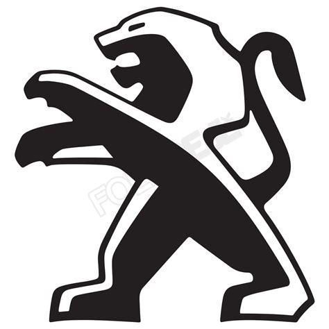 Peugeot Logo by Peugeot Logo 1 Vis Alle Stickers Foliegejl Dk