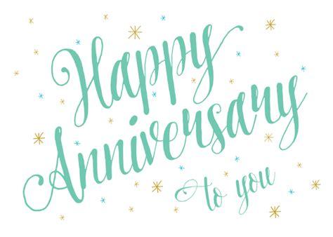 anniversary script happy anniversary card