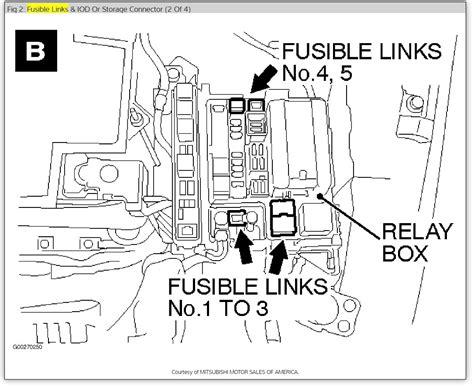 Mitsubishi Locations by Starter Relay Location 2004 Mitsubishin Endeavor When I