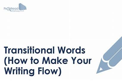 Words Writing Transitional Flow