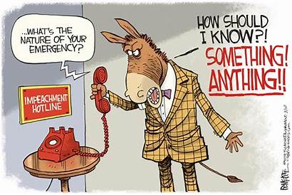 Impeachment Cartoon Trump Hotline Today Mckee Editorial