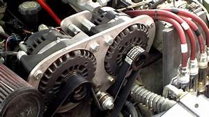 Chevy Blazer Dual 300  Amp Custom Alternator Setup