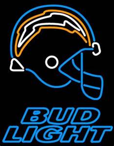 San Diego Chargers Neon Sign Man cave Pinterest