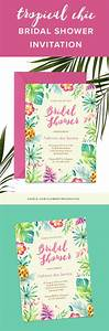 17 best ideas about luau bridal shower on pinterest luau With wedding shower invitations hawaiian theme