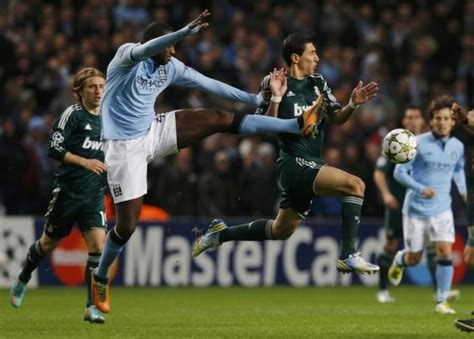 Manchester City-Real Madrid Drawn Match in Pictures ...