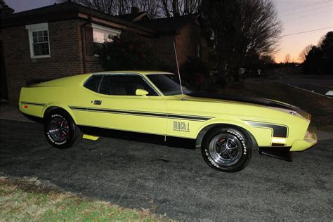 1973 ford mustang fastback 1973 ford mustang mach 1 fastback 116517