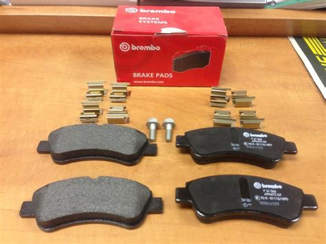 Peugeot 206 207 307 Brembo Brake Pads Front For Bosch