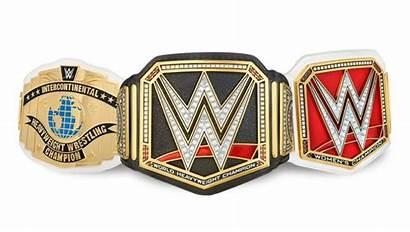 Wwe Belts Plates Championship Title Wrestling Side