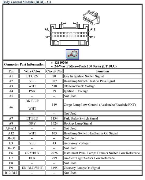 Chevy Tahoe Wiring Diagram For Free