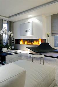 27, Mesmerizing, Minimalist, Fireplace, Ideas, For, Your, Living