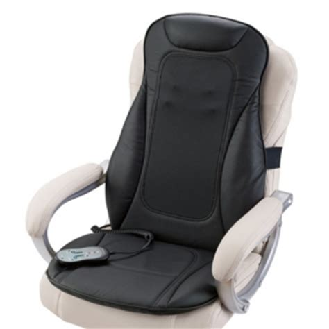 Massage Chair Topper by I Need Shiatsu Seat Topper With Heat At Brookstone Review