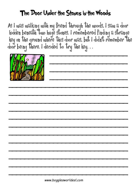 writing worksheets for middle school worksheets for all