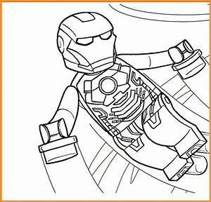 Iron Man Lego Ausmalbilder Zum Ausdrucken Kostenlos