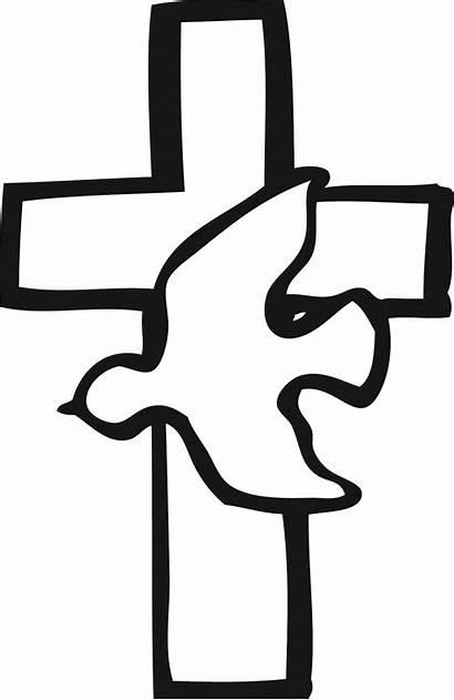 Catholic Cross Clip Baptism Clipart Crosses Holy
