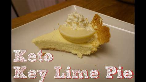 keto key lime pie  carb keto dessert youtube