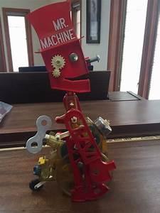 Original 1960 Ideal Mr Machine Wind Up Robot With