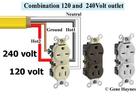 120v 240v outlets on the same circuit by rbrjr1