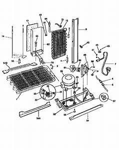Frigidaire Side By Side Refrigerator System Parts