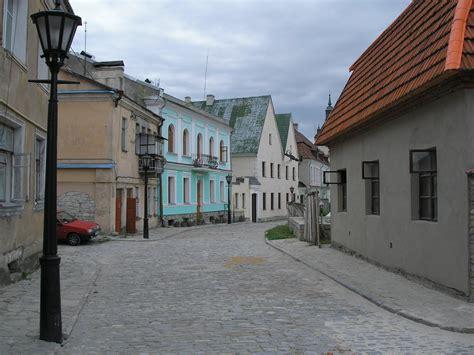 Filekamianetspodilskyi Old Town Streetjpg Wikimedia