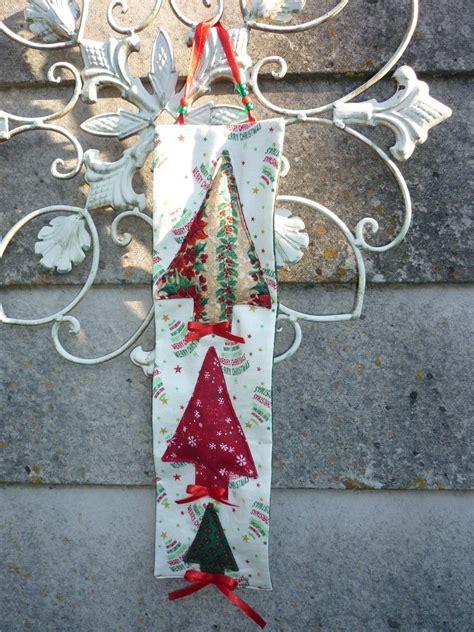 fabric buntings   creations hanging christmas