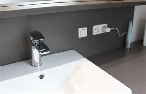 meuble lavabo cuisine l 39 installation électrique dans la salle de bain travaux com