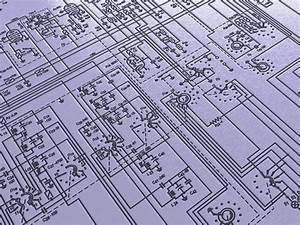 Electronic Plan Background Stock Illustration