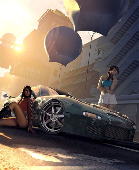 Need For Speed Girls>>a Twosome